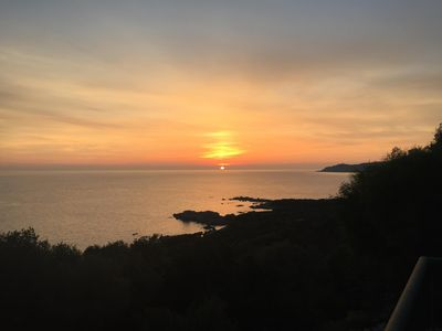 Photo for Villa 10 pers -View sea on 180 ° - Sea access to 600M