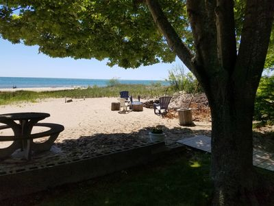 Photo for Reserve Your Lake Huron Beachfront Cottage For Summer & Fall 2019