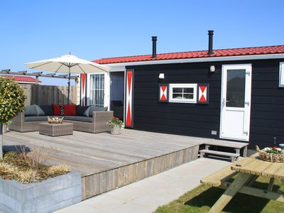 Photo for 4 person chalet on family park in Veere