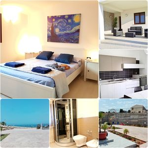 Photo for new house near the sea, terrace overlooking the sea, private parking and tranquility