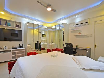 Photo for Apartment next to the hotel Copacabana Palace # 202