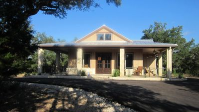 Photo for Beautiful  Guest House On 21 Acre Gated Property In Texas Hill Country