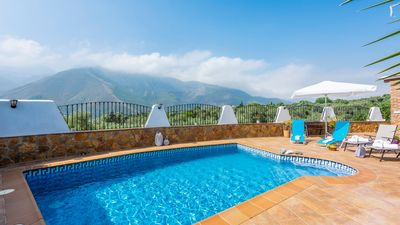 Photo for Holiday home with air-con and dream views over the mountains of the Sierra Nevada