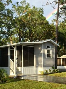 Photo for Charming 2017 1B/1B home in gorgeous Sun N Fun RV Resort