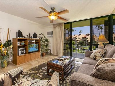 Photo for Recently remodeled 1bd/2ba garden view condo at Kamaole Sands in South Kihei. 7-206