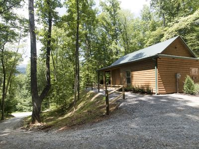 Photo for Beautiful New Cabin In Wooded Setting Near New Casino