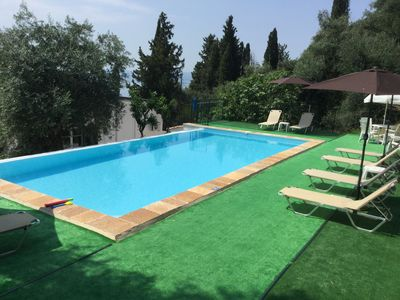 Photo for Zeus 1 apartment with swimming pool and spertacular sea vew and swimming pool