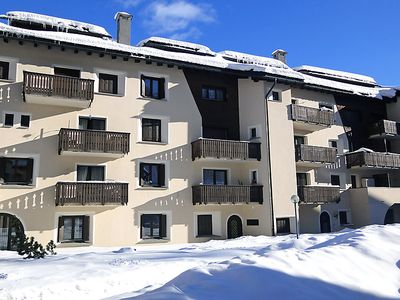 Photo for One bedroom Apartment, sleeps 3 in Silvaplana with WiFi