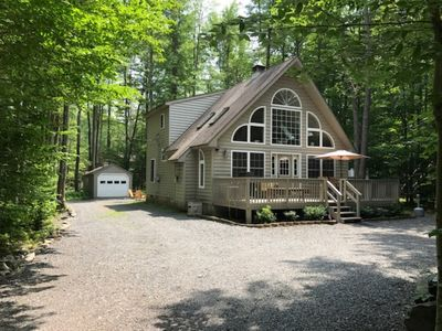 Photo for Beautiful Chalet w/ private hot tub on quiet court!