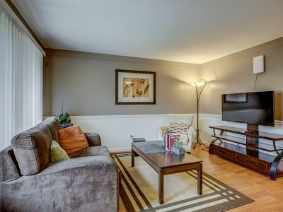 Photo for New stylish 1 bedroom private entry apt & fully furnished w/contemporary design