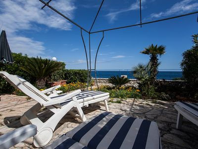 Photo for 20 METERS FROM THE WATER WITH DISCUSSION AND PRIVATE ACCESS TO THE SEA!