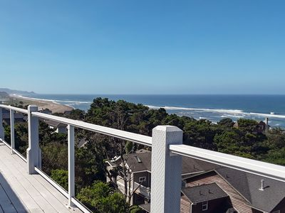 Photo for New Construction w/ the Best Ocean Views in Lincoln City & Huge Decks