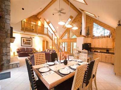 Luxuary 4br, 4.5 Bath Galena Territory Rental With Hot Tub & Pool Table