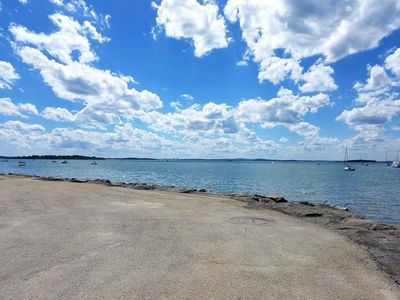 Photo for Home 100 feet from beautiful beach in secluded bay side