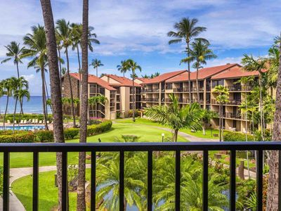 Photo for Beautiful Remodel with ocean views - Air Conditioned Studio D-303 Papakea Resort