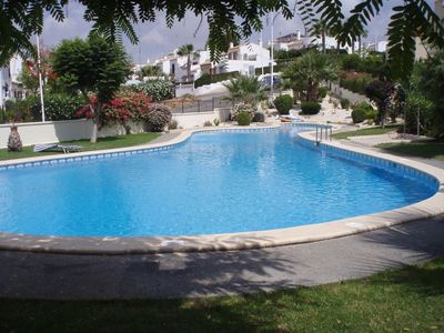 Photo for Immaculate Well Equipped Villa with FREE Wi-Fi and beautiful Communal Pool