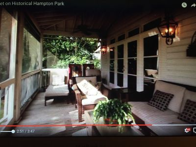 Photo for Spacious 1920s home in downtown's popular and historic Hampton Park neighborhood