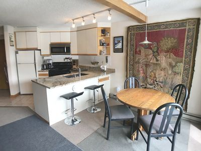 Photo for Penthouse Studio - Ski In-Out, Full Kitchen - Balcony - Quiet Corner Unit-  View