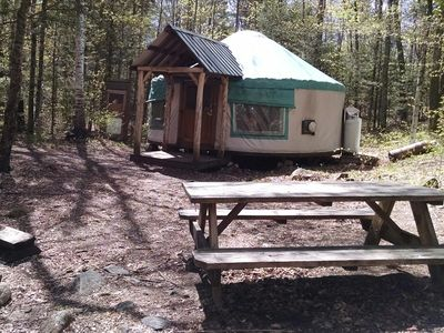 Photo for Pristine Backcountry Yurt Stay in the Adirondacks