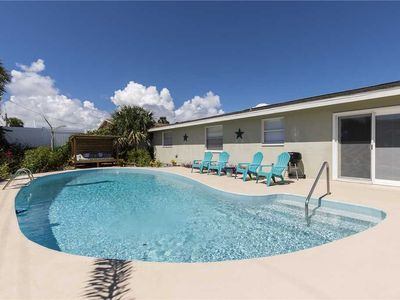 Photo for Surfside, 4 Bedrooms, Private Pool, Fenced Yard, Pets, WiFi, Sleeps 8