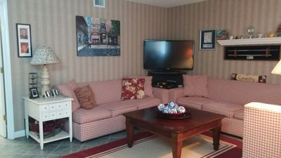 Photo for Beach with Resort Amenities/Security-No Extra Fees-Military Disc