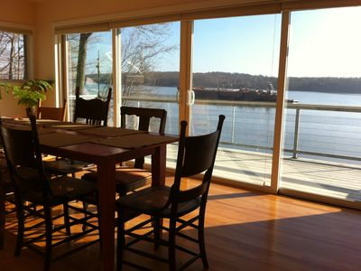 Photo for Magnificent Hudson River Views on Waterfront Ulster Park Property