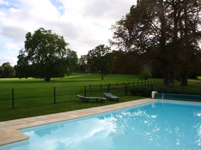 Photo for Family house in the park with exclusive pool