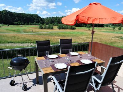 Photo for Holidays at a golf place, near of Schlosspark and riding stable - apartment