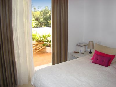 Photo for Near the beach, spacious apartment with beautiful views