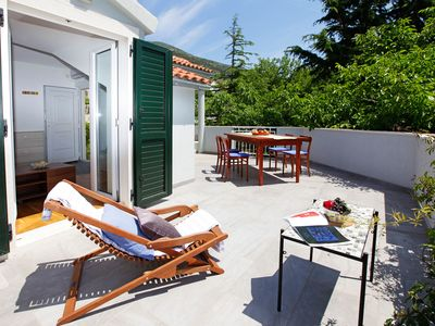 Photo for 2BR penthouse with terrace for 6✶1min sea✶center