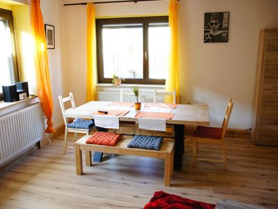 Photo for Family-friendly large apartment, only 15 minutes from Weimar, Jena and Apolda
