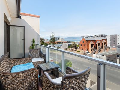 Photo for Blouberg Beach Apartment with Balcony