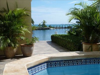 Photo for Luxury home with pool and 50' of canal front deep water dockage.