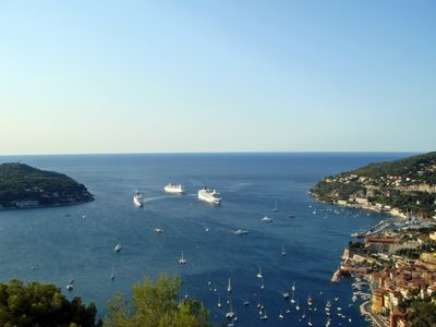 """Photo for """"Paradis d'Azur"""" 300m overlooking the harbor, panoramic view"""