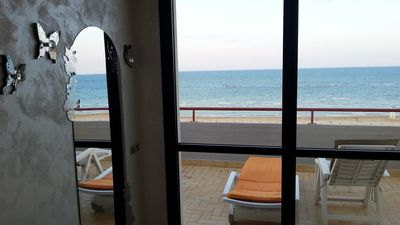 Photo for Seafront Holiday Home First row Marotta with large panoramic terrace