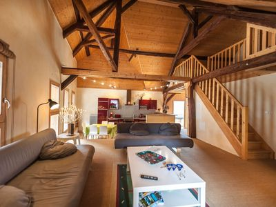Photo for Magnificent apartment, 656 feet from the lake of Annecy