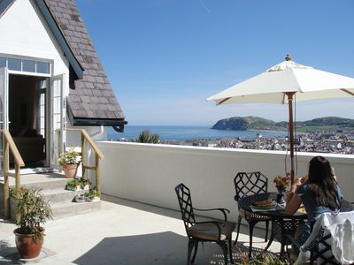Photo for Stunning views, 2 bedroom house with roof terrace