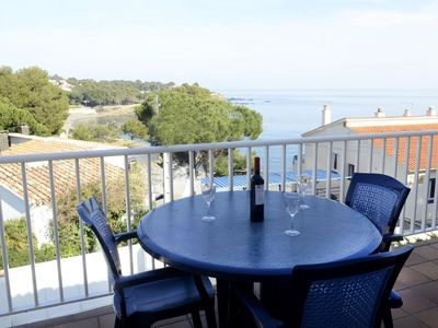 Photo for Nice, bright and well equipped apartment, located in Les Tonyines, a quiet residential are