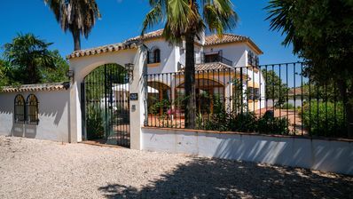 Photo for Stunning  Rural Country Villa with mountain views set in 6 acres of private land