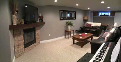 Relax in your own lounge.Watch some T.V. Cozy up to your gas fire. Your home.