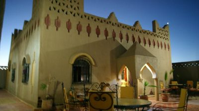 Photo for Double room in fantastic Riad in front of the dunes