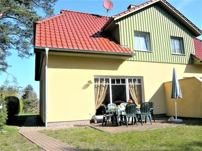 Photo for Holiday house directly on the Darßer forest for 5 persons, fireplace, pets allowed
