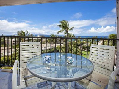 Photo for Enjoy partial ocean views. 1 bd/1ba sleeps 4 people. Kihei Akahi in South Kihei. D-608