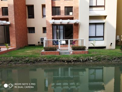 Photo for A 3 bed room apartment on two levels with a big living & dining area.