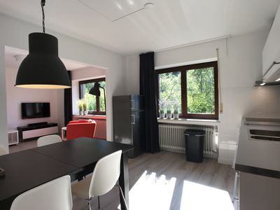 Photo for NEW! Eifel National Park, modern apartment, view, center, private