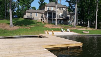 Photo for Beyond Breathtaking*Private Side of Lake Anna*Amenities Galore*Endless Sunsets