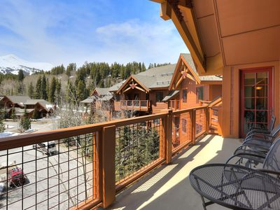 Photo for 3Br Sweeping Snowcapped Views + Expansive Balcony - Sleeps 9
