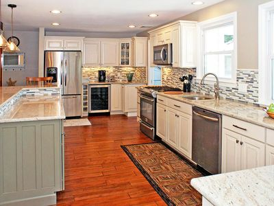 Photo for Newly Renovated Beach House, Large Deck & Hot Tub / Pet Friendly, C/A