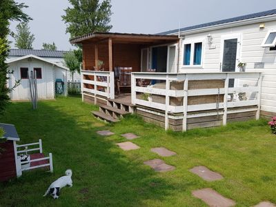 Photo for Vacation home Wiringher Chalet 67  in Wieringen, Noord - Holland - 4 persons, 2 bedrooms