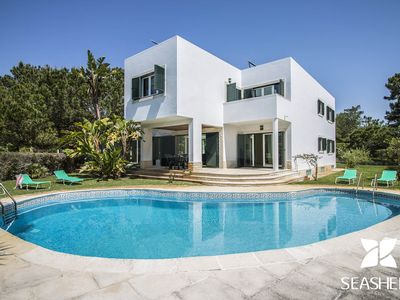 Photo for Villa Teddy - Modern 5 Bedroom Villa, 300m from Troia Beach.